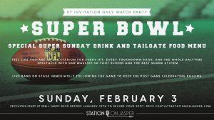 Super Bowl with The Denim Daddies