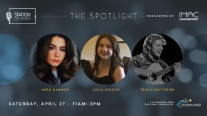 Spotlight Brunch ft Travis Matthews, Sara Gannon & Julia Dolejsi
