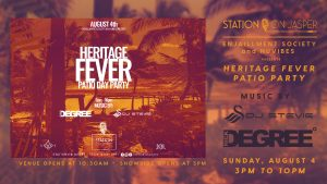 Heritage Fever - Patio Day Party