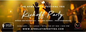 The Afro Latin Festival YEG Kickoff Party (DAY 1)