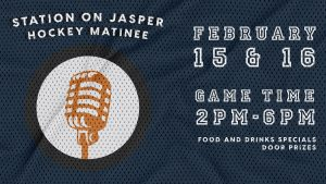 Oilers Matinee Watch Party at Station on Jasper